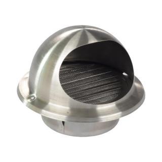 朴勒不锈钢球形外气口125(粗网)
