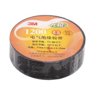 3M绝缘电工胶带(黑)